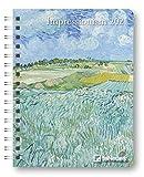 Impressionism - Buchkalender Deluxe 2021 - Kalenderbuch A5 - Taschenkalender - teNeues-Verlag - Taschenplaner mit Spiralbindung - 17 cm x 22 cm - Kunstkalender