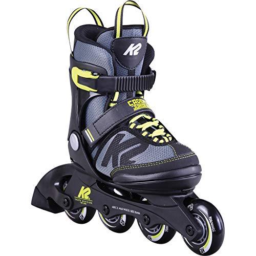 K2 Skates Jungen Inline Skate Cadence Jr Ltd Boy — black - grey - red — S (EU: 29-34 / UK: 10-1 / US: 11-2) — 30D0290