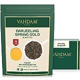 VAHDAM, Té Darjeeling Primero Oro Flush (201 tazas) - Florido, Aromático y Delicioso. - Escogido, Lleno & Enviado Directo from India, Darjeeling Té Primero Flush, 50g