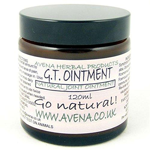 GT Salbe 120ml–Eine natürliche Salbe angebliche für die Linderung der Schmerzen von Gicht