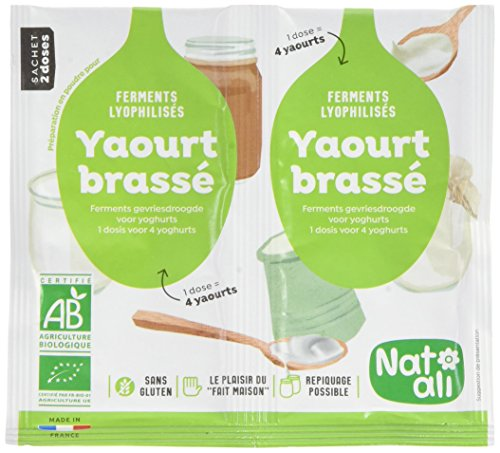 Nat-Ali Ferment Yaourt Brasse Bio 12 g