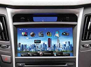 Farenheit F-84SNTA11 OEM Upgrade Multimedia Navigation System with 8-Inch Monitor and Bluetooth for Hyundai Sonata 2010 and 2011