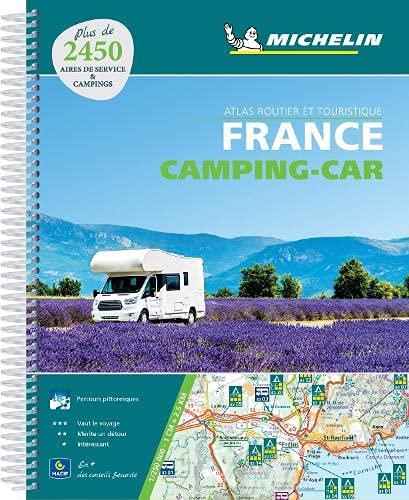 ATLAS France CAMPING-CAR: Atlas routier et touristique (Michelin Road Atlases)