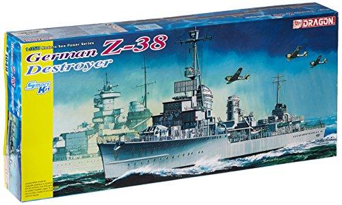 Dragon - D1049 - Maquette - Destroyer Allemand - Z-38 - Echelle 1:350