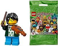 レゴ(LEGO)ミニフィギュア シリーズ21 バイオリンキッド │ Violin Kid 【71029-2】