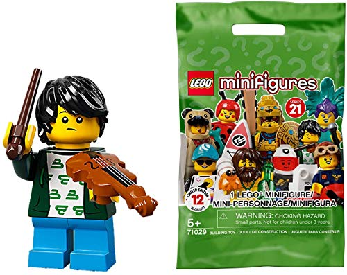 Lego 71029 Collectable Minifigures Series 21 - Violin Kid