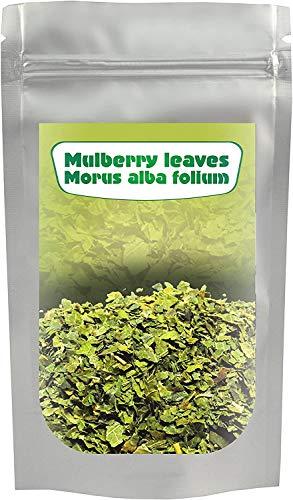 Weiße Maulbeere Blatt Tee (Morus alba) 200G, geschnitten,