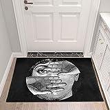 LZKUKZSA Fornaseti Wohnzimmer Flurzugang Badezimmer Nordic Home Indoor Schlafzimmer Wohnzimmer Nacht Teppich Matte Küche Tatami Teppich