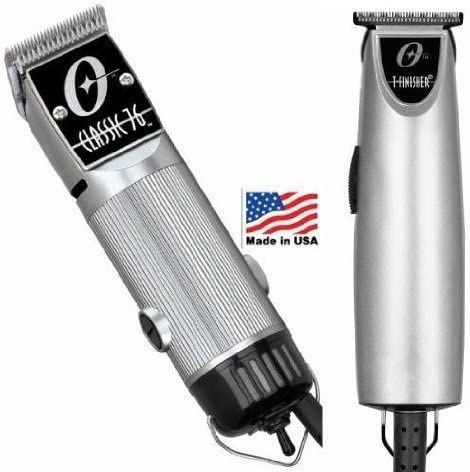 2021 Combo Limited 2021 Edition Oster 76 and T Finisher Silver discount Clipper and Trimmer. outlet sale