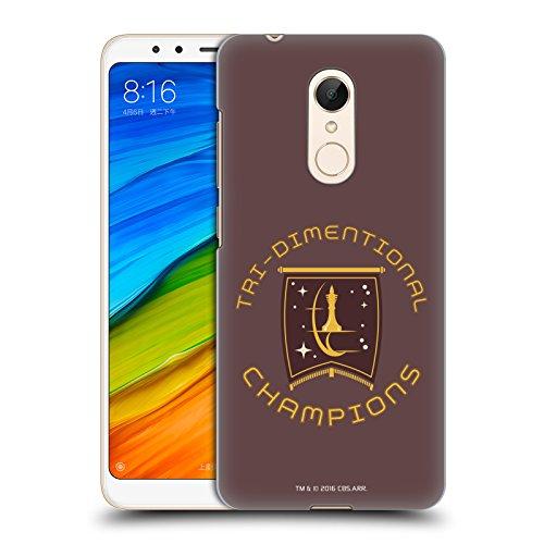 Head Case Designs Licenciado Oficialmente Star Trek Champion Logos de la Flota Estelar Carcasa rígida Compatible con Xiaomi Redmi 5