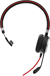 Jabra Evolve 40 Stereo Headset for PC, Laptop, Mobile Phone, Smartphone, softphone and Tablet
