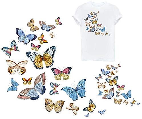Clothes with butterfly designs