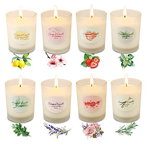 Scented Candle Sets,Gifts for Women,Stress Relief Aromatherapy...