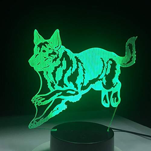 Huellas de Perrito luz luz Nocturna Todos los Juguetes para Perros lámpara...