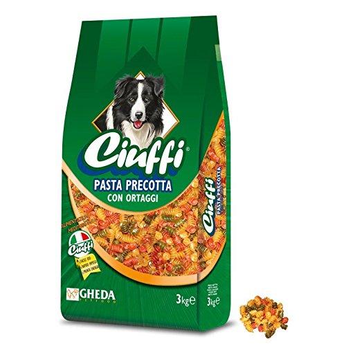 GHEDA CIUFFI Pasta PRECOTTA con ORTAGGI 7,5 kg.