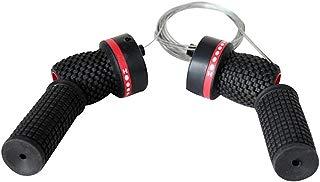 MOOSUNGEEK - 1 par de palancas de Cambio de Marchas para Bicicleta, manubrio Universal, desviadores, transmisión, Control de Velocidad y antiarañazos