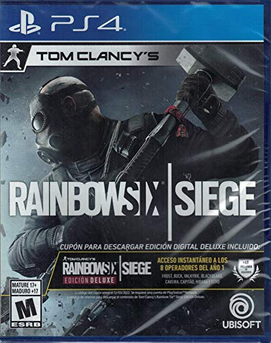 Tom Clancy's Rainbow Six Siege - Deluxe Edition - Sony PlayStation 4