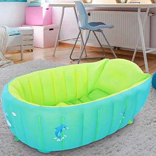 Bañera infantil, bañera antideslizante para niños pequeños, para niños de 0 a 6 años, regalo para bebés(L)