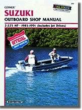 B781 Clymer Suzuki DT2-225 hp 1985-1991 Outboard Boat Engine Repair Manual