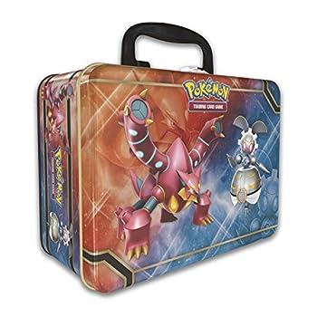 Pokemon 2016 Collectors Chest Treasure Tin  Volcanion Magearna and Shiny Mega Gengar-EX