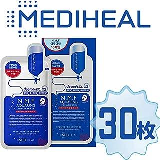 【正規輸入品】Mediheal メディヒール N.M.F アクアリング アンプル・マスクパックEX 10枚入り×3(Aquaring Ampoule Essential Mask PackEX 1box(10sheet)×3