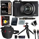 Canon PowerShot G7X Mark III 20.1MP 4K Digital Camera Vlogger Bundle...