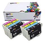 Hi T069de tinta remanufacturados Cartuchos de tinta para Epson Stylus NX105, NX110, NX115, NX215, NX305, NX415, NX510, NX515workforce 310, 315, 610, 615