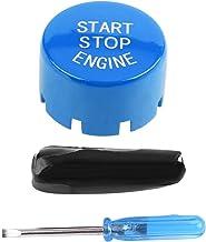Coperchio dellInterruttore del Motore Pulsante Start-Stop del Motore dellAutomobile Aramox Black