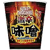 日清 カップヌードル 激辛味噌 ビッグ 108g ×12個