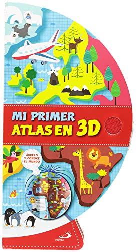 Mi primer atlas en 3D (Aprender, jugar y descubrir)