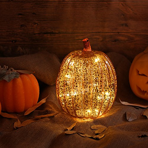 simpdecor Luci Zucca Halloween Luminosa Luci Decorative...