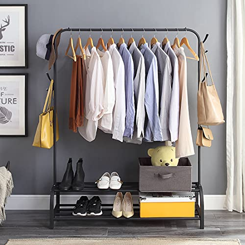 Clothes Rack with Shelves – Garments Rack