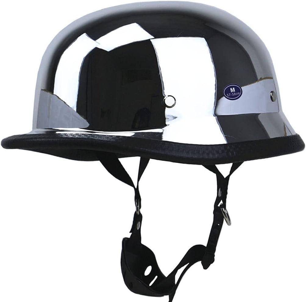 Retro Motorcycle Fort Worth Mall Chicago Mall Half Helmet Half-Shell Cap Hel Skull