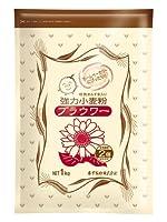 木下製粉 ブラウワー 6kg ( 1kg×6袋 ) 小麦粉 粗挽きふすま入り パン用 強力粉