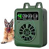 Dispositivo Antiladridos, Disuasorio de Corteza para Perro Ultrasónico, Dispositivo de Control de ladrido al Aire Libre Collar, Inofensivo Humanos para Perros
