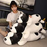 WPYLY Lovely Cartoon Hugging Pillow French Bulldog Plush Toy Stuffed Puppy Throw Pillow Baby Sleeping Pillow for Children 80cm A