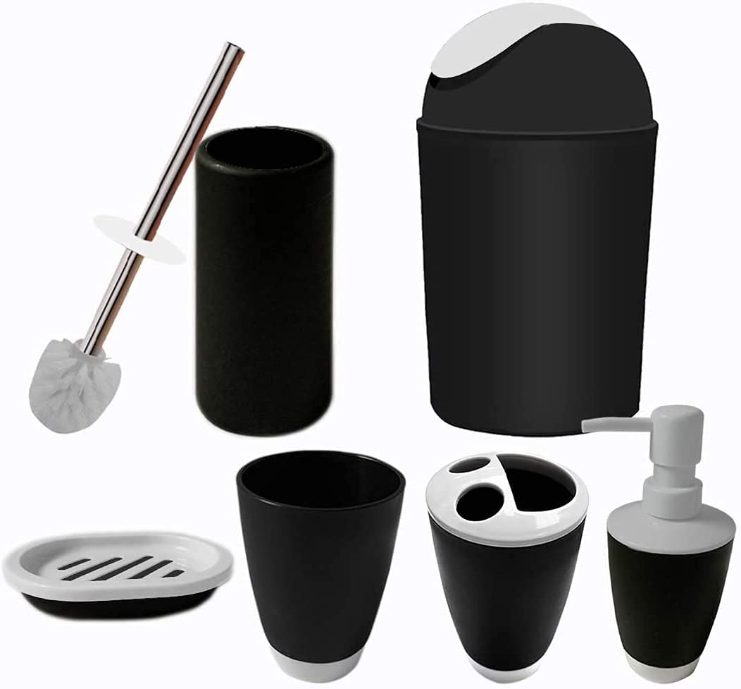 besaset Bathroom Manufacturer Popularity direct delivery Accessories Set Pieces 6 Acces Plastic