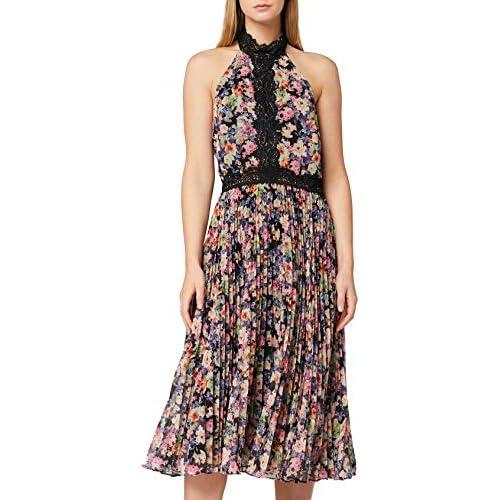 Marchio Amazon - TRUTH & FABLE Vestito Elegante Donna, Multicolore (Multicoloured), 38, Label: XXS