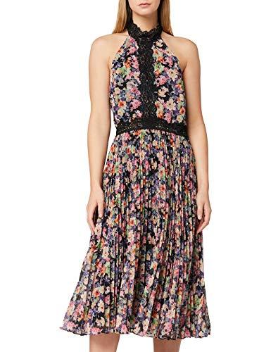 Marchio Amazon - TRUTH & FABLE Vestito Elegante Donna, Multicolore (Multicoloured), 46, Label: L