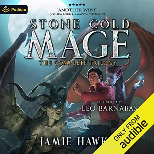 Stone Cold Mage: The Complete Trilogy cover art