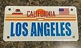 TammieLove - Placa de metal para matrícula de Los Ángeles California, 15 x 30 cm