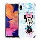 Bereajoy for Galaxy A10E Case,Soft TPU airbag Protection Rubber Soft Anti-Fall Mobile Phone Case Cover for Samsung Galaxy A10E (Minnie)