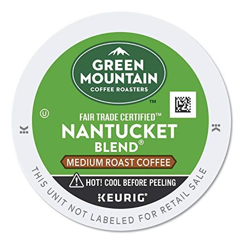 Green Mountain Coffee Nantucket Blend Fair Trade Keurig Single-Serve K-Cup Pods, Medium Roast Coffee, 24 Count