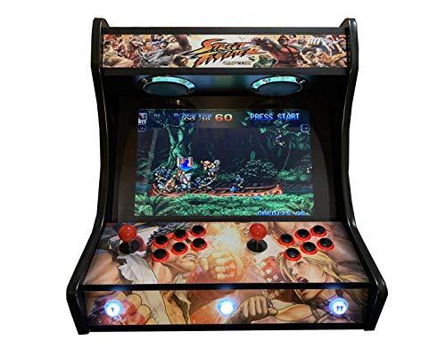Arcade BARTOP VIDEOCONSOLA Retro máquina recreativa -Tamaño Real- Diseño- Street Figther