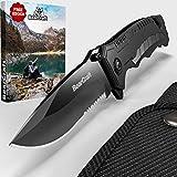 Zoom IMG-1 bearcraft coltello pieghevole serramanico nero