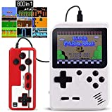 Handheld Game Console,Proslife Retro Mini Game Player Machine with 800 FC Classic Games Retro Video Game Consol Support Connecting TV & 2 Players