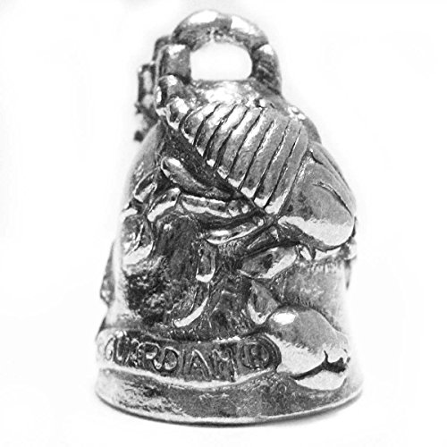 Guardian Scorpion Motorcycle Biker Luck Gremlin Riding Bell or Key Ring
