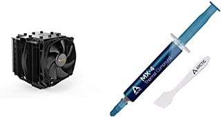 be quiet! Dark Rock Pro 4, BK022, 250W TDP, CPU Cooler & Arctic MX-4 - Thermal Compound Paste for Coolers | Heat Sink Past...