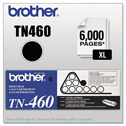 Price comparison product image Brother TN460 Original Toner Cartridge,  Black - in Retail Packaging