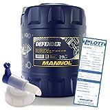MANNOL Defender 10W-40 20L Motoröl + Auslaufhahn